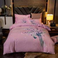 加厚棉四件套纯棉磨毛床单被套1.5米1.8m单双人床品套件