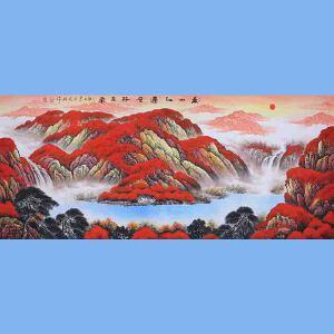 中国青年美术家协会常务理事,中国山水画院专业画家,国家一级美术师高云鹏(万山红遍)7