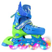 旱冰鞋轮滑鞋男女直排3-6-10岁单双排互换儿童溜冰鞋全套装直排轮