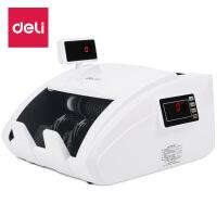 得力( deli)点钞机3927支持新版人民币钞票鉴定验钞机全智能双屏