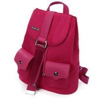 尼龙双肩包女包背包休闲时尚学院风书包