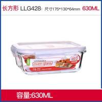 便当盒微波炉饭盒玻璃碗密封收纳盒冰箱家居日用收纳用品收纳箱盒