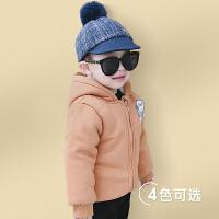 【年货节2件3折到手价:43.5元】罗町婴儿外套冬装新款女宝宝童装秋冬装1-3岁男童2加厚上衣潮宝宝外套
