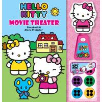 Hello Kitty Movie Theater Storybook & Movie Projector 迷你放映机系列:凯蒂猫