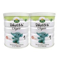 【2罐装】丹麦进口 Arla(阿拉) Baby&Me宝贝与我 有机婴幼儿配方奶粉 1段(0-6月) 600g/罐*2罐