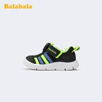 巴拉巴拉男童鞋子夏季小童运动鞋透气毛毛虫时尚宝宝跑鞋