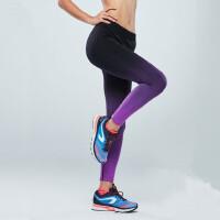 女士运动紧身裤 新款小脚速干修身收口跑步裤长裤