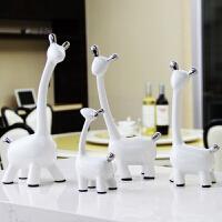 家里摆设的小饰品鹿摆件酒柜书架 客厅家居摆饰艺术现代