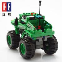 【当当自营】双鹰积木拼装回力车大轮越野模型可合体益智DIY儿童玩具车C52006