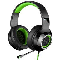 Edifier 漫步者 G4 USB7.1声道 头戴式 带线控 电脑耳麦 电竞游戏耳机 幽灵绿