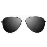 男士太阳镜时尚潮人墨镜偏光镜长脸开车眼睛司机驾驶眼镜个性蛤蟆镜