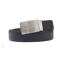 VERSACE COLLECTION范思哲 男士黑色皮革美杜莎头像板扣腰带V910237 VM00405 V184 1
