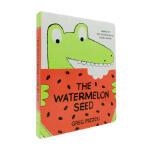 西瓜籽 英文原版 The Watermelon Seed 纸板书 苏斯博士奖 获奖绘本 儿童趣味故事