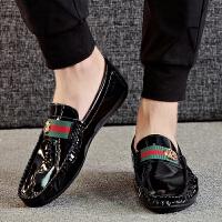 2019春季新款豆豆鞋男鞋韩版休闲男鞋男士鞋韩版一脚蹬懒人鞋驾车鞋