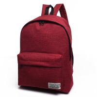 帆布包 女 双肩中学生书包韩版潮小清新学院风背包男时尚旅行包出差、手提包