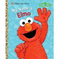 英文原版 芝麻街:我的名字是阿莫 My Name Is Elmo (Sesame Street)