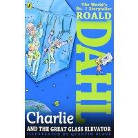 英文原版 Charlie and the Great Glass Elevator 查理和大玻璃升降机 罗尔德 Roald