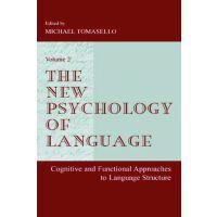 【预订】The New Psychology of Language: Cognitive and Functional