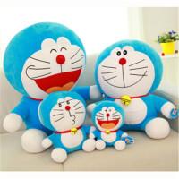 多啦a梦蓝胖子公仔机器猫毛绒玩具叮当猫玩偶娃娃蓝胖子女生圣诞礼物