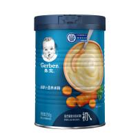 嘉宝胡萝卜配方营养米粉250g(辅食添加初期-6个月)