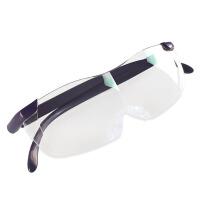 老人阅读双眼眼镜型放大镜高清看手机修表维修3倍头戴高倍扩大镜30便携式15专用100老花镜1000