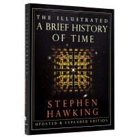 【中商原版】时间简史插图版 英文原版书籍 Illustrated A Brief History of Time 史蒂芬霍金著 科学巨作 宇宙知识自然科学科技畅销科普读物