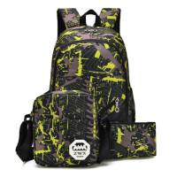 双肩包男女书包高中初中小学生书包男士大容量韩版旅游旅行背包