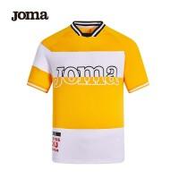 JOMA荷马男女同款短袖T恤2020年夏季新款百搭拼色舒适上衣男满200减40