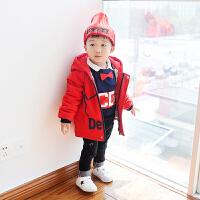2017新款童装韩版儿童棉袄男童秋装夹棉外套宝宝棉衣薄衣
