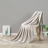 LOVO家纺 伊瓦洛莱赛尔提花天丝毯 夏凉毯子