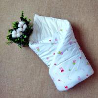 君别棉花小被子婴幼儿手工棉花被新生儿 婴儿抱被 外出加厚小被子 100x100cm