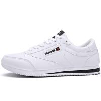 新款男士韩版休闲板鞋潮流内增高男鞋冬季运动小白鞋男生
