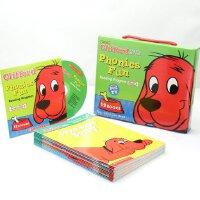英文原版 大红狗语音趣味套装#4(含CD) Cliffords Phonics Fun Box Set 自然拼读法