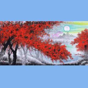 中国青年美术家协会常务理事,中国扇子艺术学会会员,中国山水画院专业画家,国家一级美术师高云鹏(红榕树)