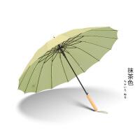 铅笔伞日系小清新长柄雨伞女双人防晒大号自动伞男晴雨两用