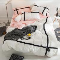 商场同款公主风水洗棉四件套 棉床上用品4件套1.8m1.5米床品套件