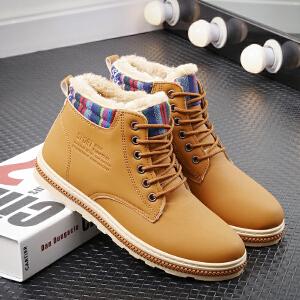 【加绒保暖】男靴英伦时尚马丁靴百搭潮流