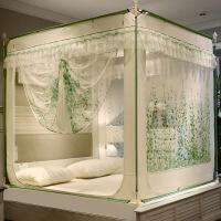 【家�b� 夏季狂�g】蚊�と��_�T拉�方�公主�L1.5米8m床�p人家用蒙古包坐床�y��