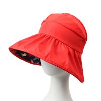 夏季儿童韩版遮阳帽海边沙滩防晒帽防紫外线空顶太阳帽子夏天男女