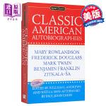 【中商原版】经典美国自传 英文原版 Classic American Autobiographies