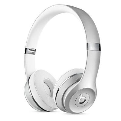[当当自营] Beats Solo3 Wireless 头戴式耳机 银色 MNEQ2PA/A可使用礼品卡支付 国行正品 全国联保