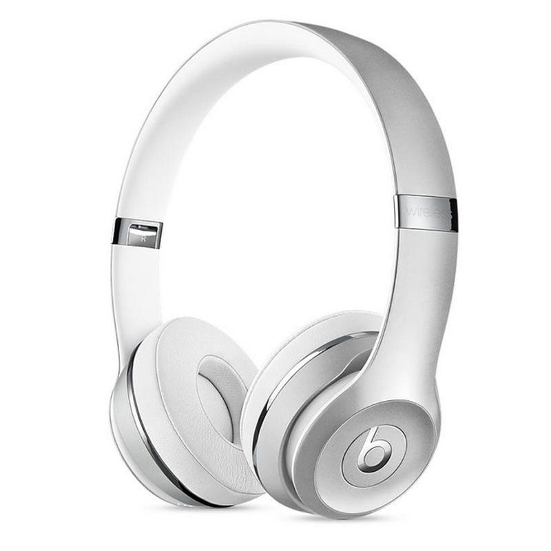 [当当自营] Beats Solo3 Wireless 头戴式耳机 银色 MNEQ2PA/A支持礼品卡支付 正品国行 全国联保