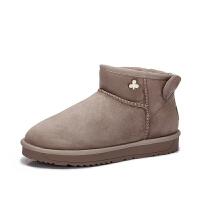 camel骆驼女鞋 冬季新品时尚Q萌双耳靴子保暖舒适平跟雪地靴