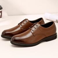 【下单立减120元】camel骆驼男鞋 秋季商务正装男士皮鞋舒适牛皮系带皮鞋