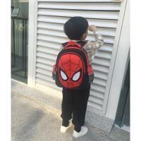 蜘蛛侠儿童书包小学生1-3年级男孩男童幼儿园一年级减负双肩背包6抖音ins 蜘蛛侠红黑大号(2-4年级) 身高125-