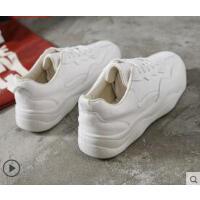 女运动鞋ins百搭复古平底网红智熏鞋子老爹休闲小白板鞋