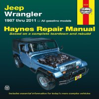 Jeep Wrangler: 1987 thru 2011 - All gasoline models (Haynes
