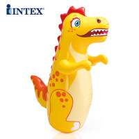 ?INTEX小孩拳击不倒翁玩具儿童锻炼宝宝健身大号充气早教益智玩具