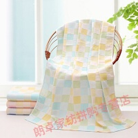 孕妇专用浴巾婴儿纱布抱被巾洗澡宝宝专用大毛巾长方形双层
