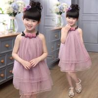 儿童装5小孩4女孩穿的6公主裙子8女童9衣服7连衣裙夏天3-10岁漂亮